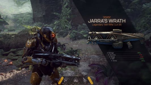 Anthem complete weapons list