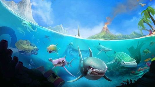 Feeding Frenzy-like 'Hungry Shark World' launches on Xbox One tomorrow