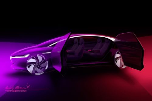 VW's new concept is a fully self-driving car with no steering wheel