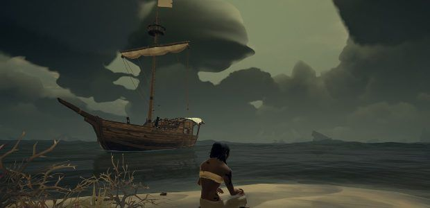 Sea of Thieves is fun until you meet other pirates