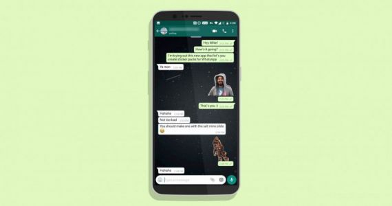 Turn any photo into a WhatsApp sticker with this free Android app