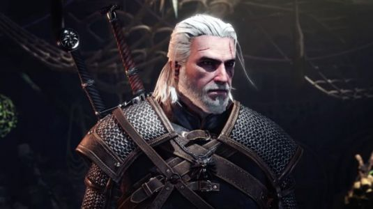 Geralt from The Witcher is coming to Monster Hunter World