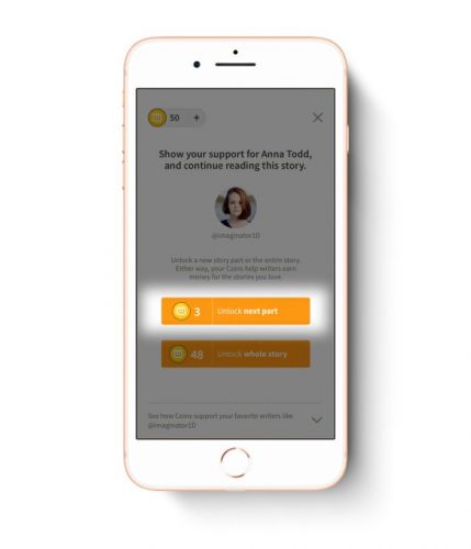 Wattpad launches a new program offering paid access to exclusive stories