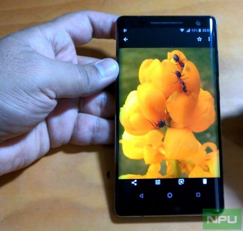 Nokia 8 Sirocco Display & Audio quality review