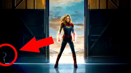 New Captain Marvel Poster Hides A Furry Easter Egg