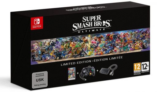 Super Smash Bros. Ultimate's Limited Edition Includes A GameCube Controller