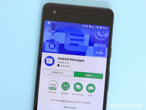 You're not the only one who doesn't have Android Messages' web client yet