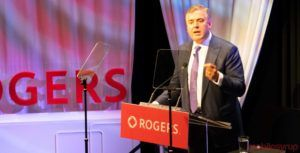 Rogers' CEO emphasizes relationship with govt, sends strong signal to create policy that 'spurs growth and innovation'