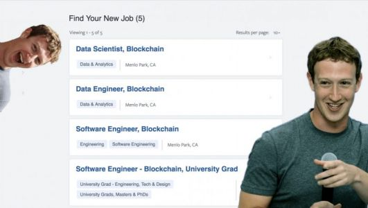 Facebook is hiring engineers and researchers for its blockchain team