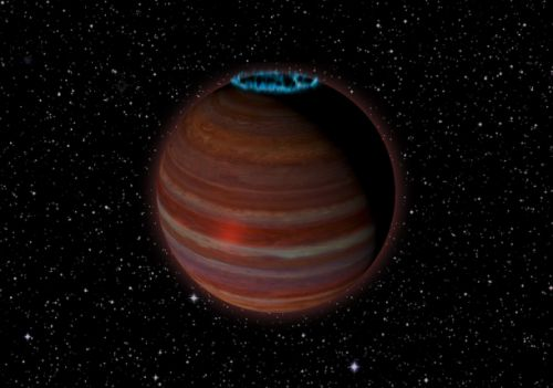 Astronomers discover bizarre rogue planet glowing with auroras