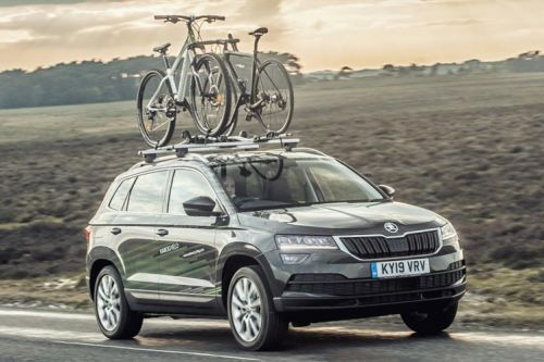 This Skoda is a concept car for cyclists - and even has a washing machine