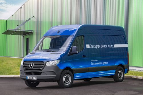 Mercedes will build an electric version of its popular Sprinter van