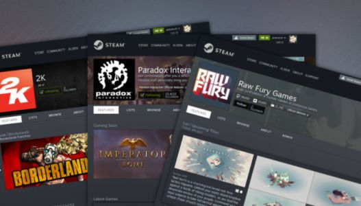 Steam Creator Homepages give developers a gaming storefront