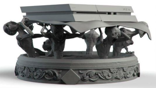 Artist Creates Creeptastic Custom Bloodborne PlayStation 4 Stand