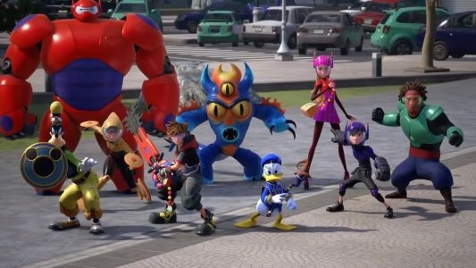 Check Out BIG HERO 6 In Japanese Trailer For KINGDOM HEARTS 3