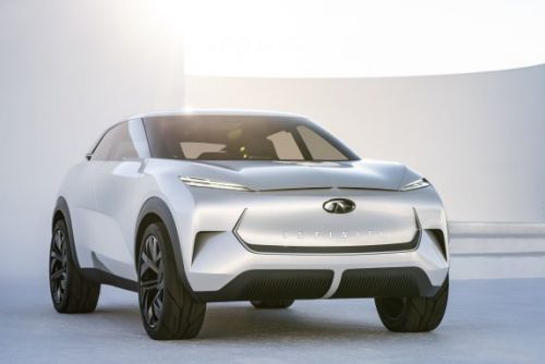 Infiniti QX Inspiration Concept gives EV SUV plan a seductive shape