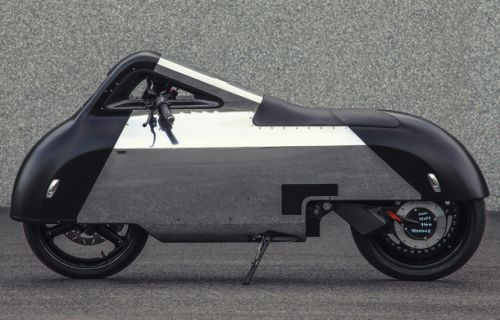 This 'Star Wars'-esque electric motorcycle was inspired by the iPhone