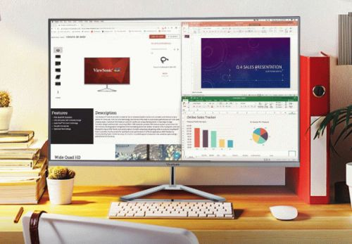 This 32″ all-screen PC monitor will match your all-screen smartphone, and it's only $199.99