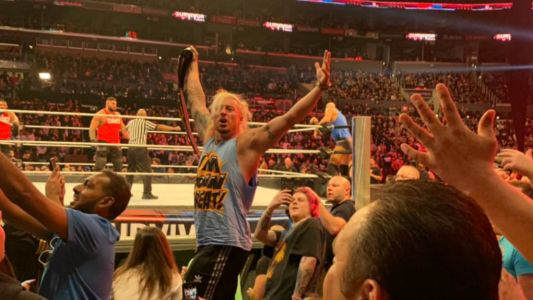 Enzo Amore Appears At WWE Survivor Series, Promptly Kicked Out