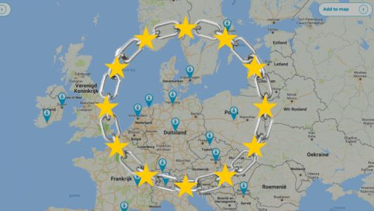 EU's interactive map lets you explore the local cryptocurrency startup scene