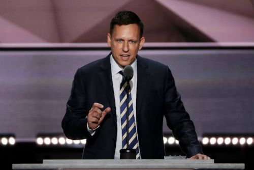 Is billionaire VC Peter Thiel trying to break up Google?