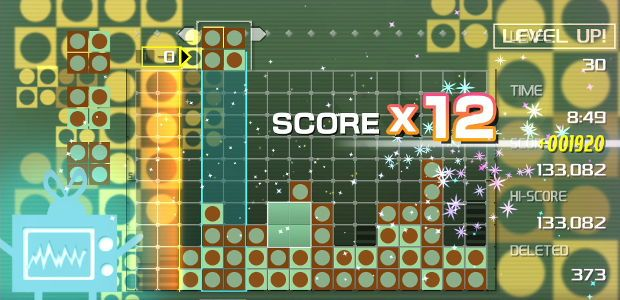 Lumines Remastered has boogied onto PC