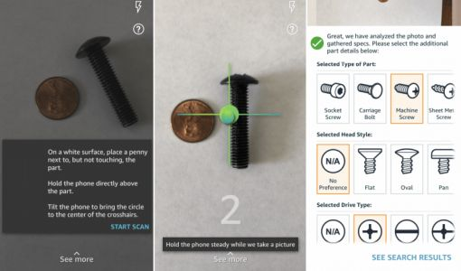 Amazon's new tool tracks down odd parts to avoid those dreaded trips to the hardware store