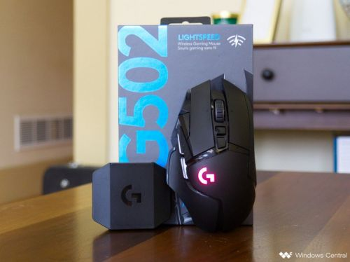 The Logitech G502 Lightspeed is a wireless gaming mouse you'll want to use