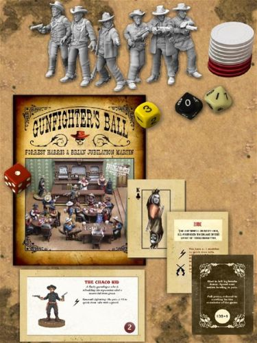 Knuckleduster Miniatures Releases Gunfighter's Ball Tomorrow