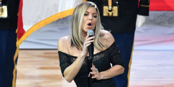 Jimmy Kimmel explains his reaction to Fergie's 'unusually sultry' rendition of the National Anthem