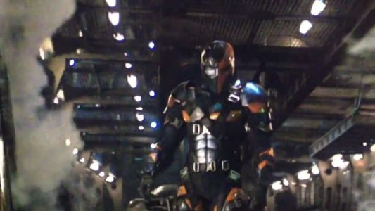 Check Out a Photo of Joe Manganiello's Deathstroke without His Mask