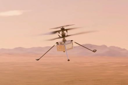 NASA's Mars helicopter makes history with first flight
