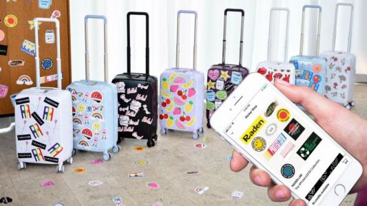 Raden is betting sticker mania will stick in the physical world