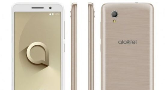 Ultra low-end Alcatel 1 Android Go Phone unveiled