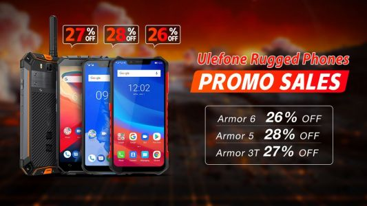 Rugged Ulefone models discounted in Gearbest promo