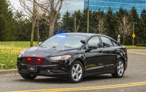 Ford's latest police hybrid is built for efficiency, not speed
