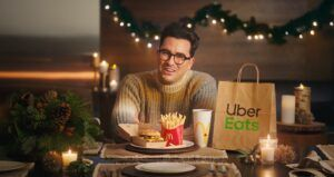 Uber Eats partners with Dan Levy on McDonalds Canada holiday promotion