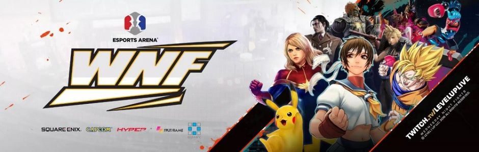 Wednesday Night Fights x Orange County 4.5 streaming live tonight from Esports Arena, featuring Super Smash Bros. Ultimate, Dragon Ball FighterZ, and more!