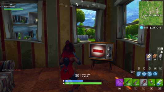 Fortnite: Players Discover New TV Message After Altering the Date and Time on PC