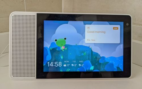 Nest Hub Sunrise alarm, Weather Frog, Family Sticky Notes arrive