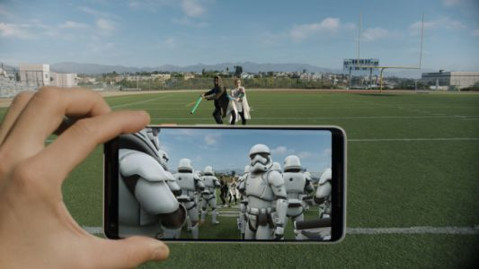 Google's new Star Wars AR stickers put Porgs everywhere