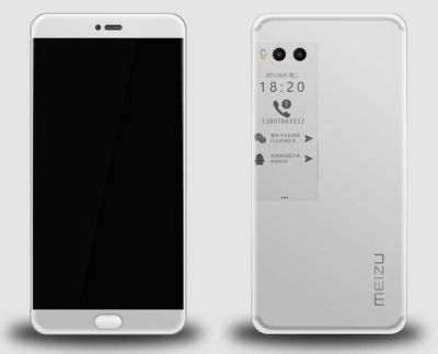 Will Meizu's Pro 7 smartphone have a small E Ink display on back?