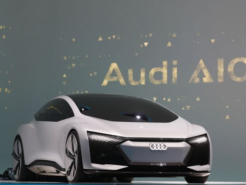 Audi just unveiled a stunning electric concept designed to drive over 400 miles on a single charge