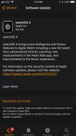 Apple Releases WatchOS 4.0 for the Apple Watch