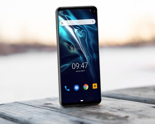 Huge CUBOT Max 2 coming with a right corner waterdrop notch