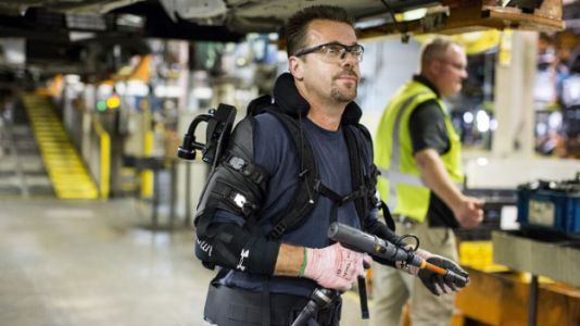 Ford's Factory Floor Exoskeletons are the Real Cyberpunk 2077