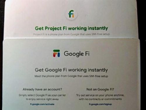 Project Fi is getting a new name