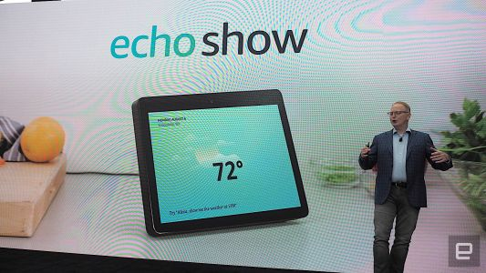 Amazon's new Echo Show packs a larger display and improved audio