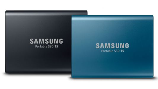 Samsung's Portable SSD T5 can transfer data at a speed of up to 540MB/s