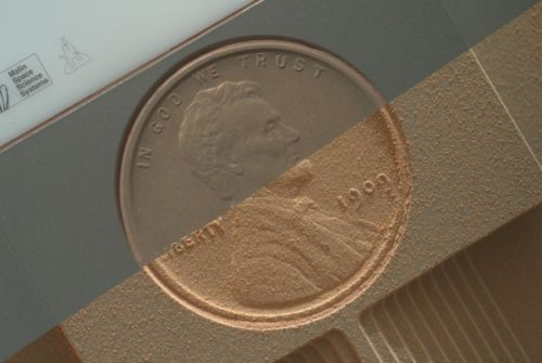 NASA is using a 1909 penny to learn more about seasons on Mars